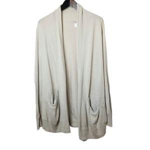 Wilfred Silk & Cashmere Neutral Cardigan
